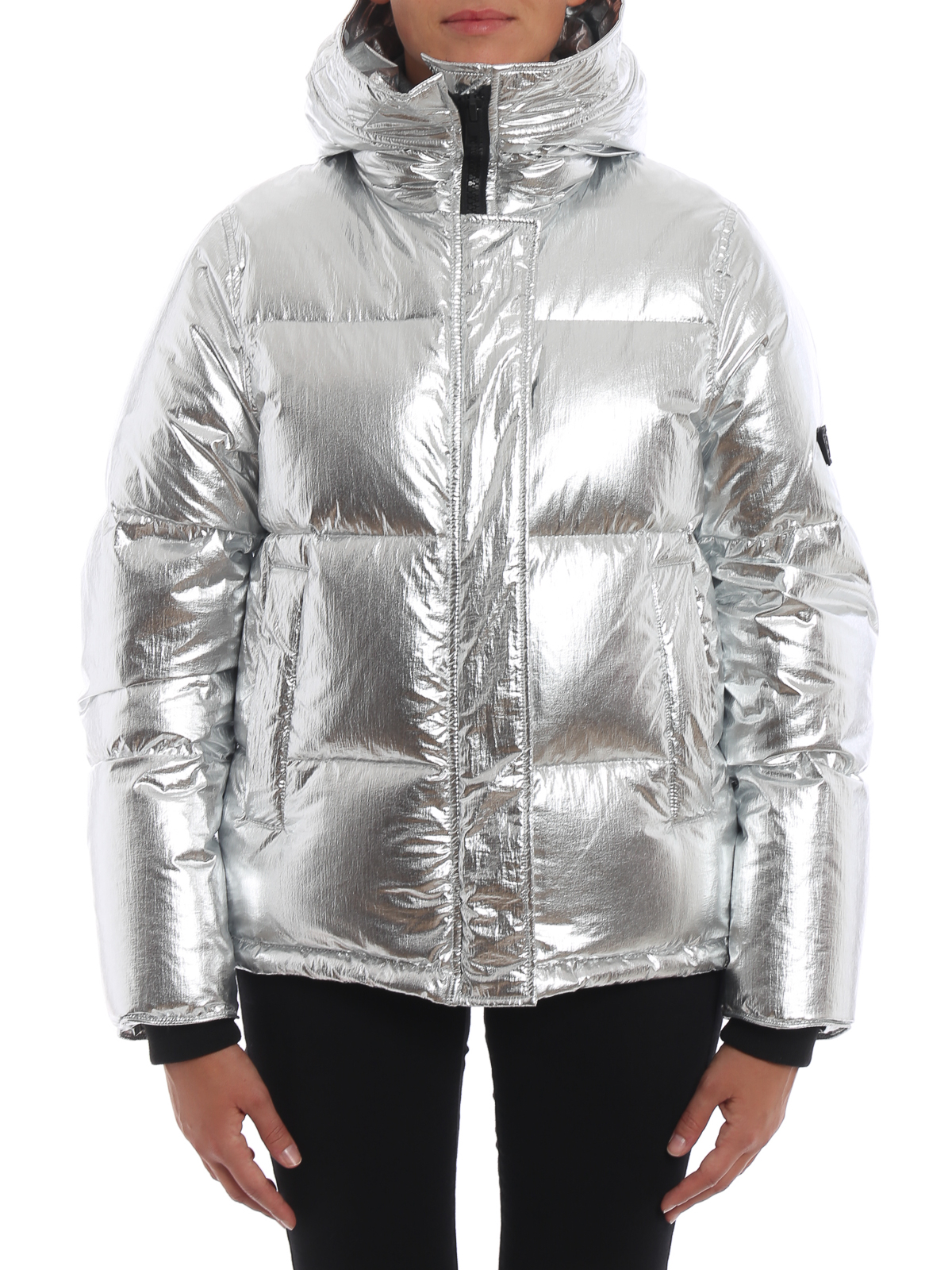 83c0fecb Kenzo - Crackle metallic nylon hooded puffer jacket - padded jackets ...