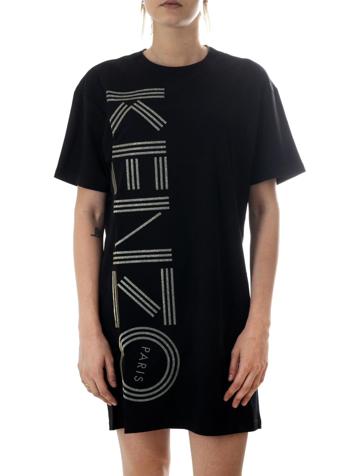 Kenzo - Kurzes Kleid - Schwarz - Kurze Kleider - F18RO18