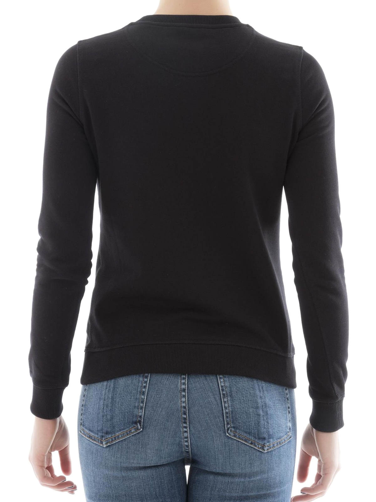 BLACK COTTON SWEATSHIRT Black cotton sweatshirt. Snaps closure. Long sleeves. Composition: % Cotton , Login to see more detail. Login to see more detail. Read Review. Final Sale! Read Review. Offers (1 in total) Final Sale! More. Subscribe To Alerts For This Product.
