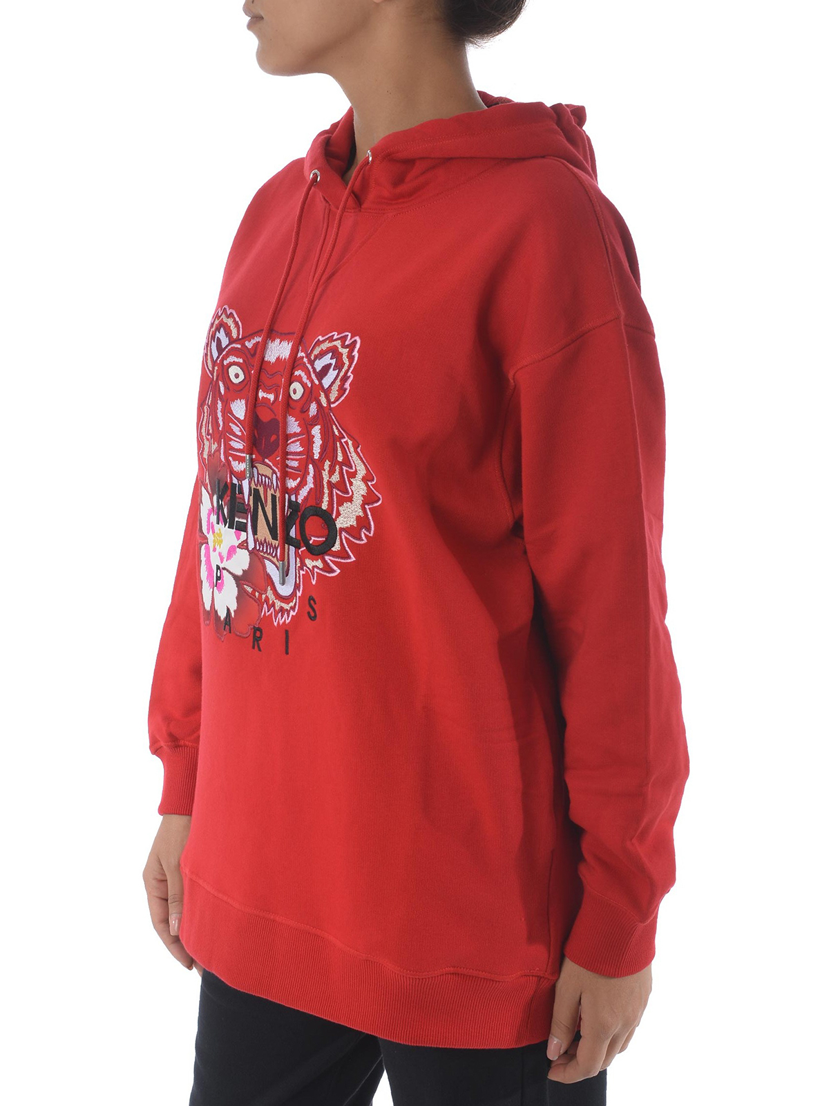 0665cdca86 iKRIX KENZO: Sweatshirts & Sweaters - Red Tiger embroidery sweatshirt