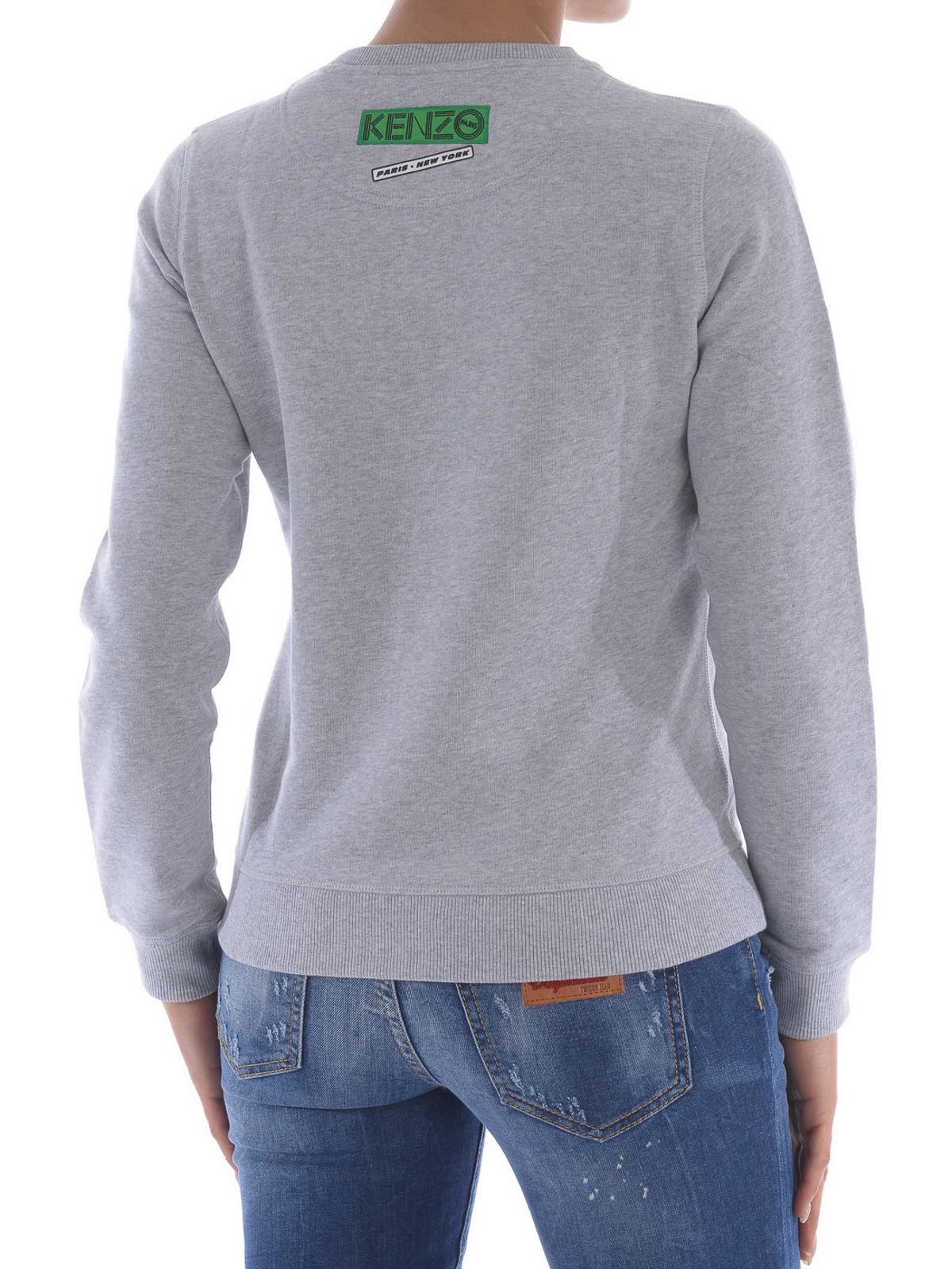 573a828f1cb iKRIX KENZO  Sweatshirts   Pulls - Sweat-Shirts Et Pulls Gris Clair