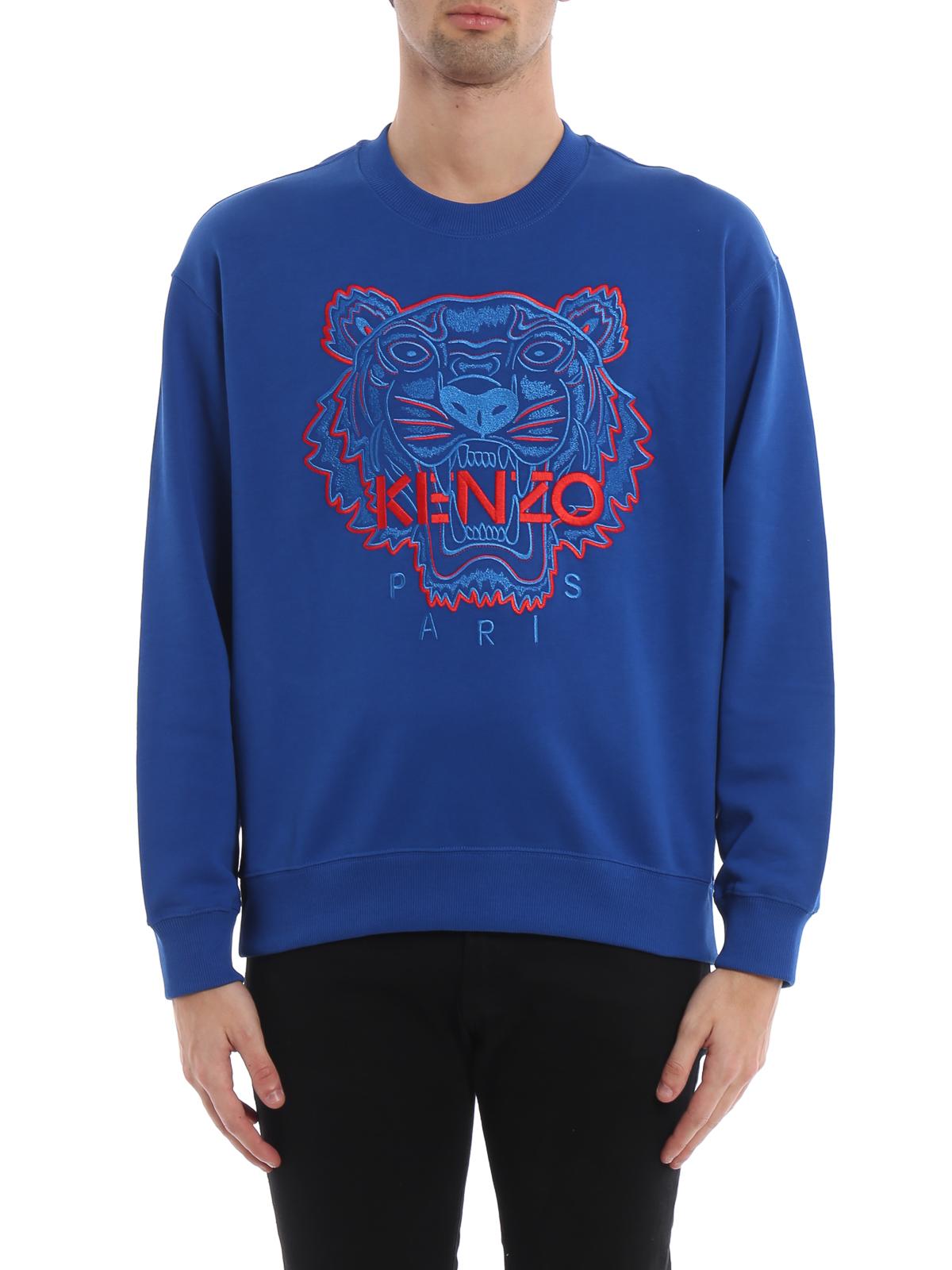 iKRIX KENZO  Sweatshirts   Sweaters - Two-tone cotton Tiger classic  sweatshirt 13d41861d16