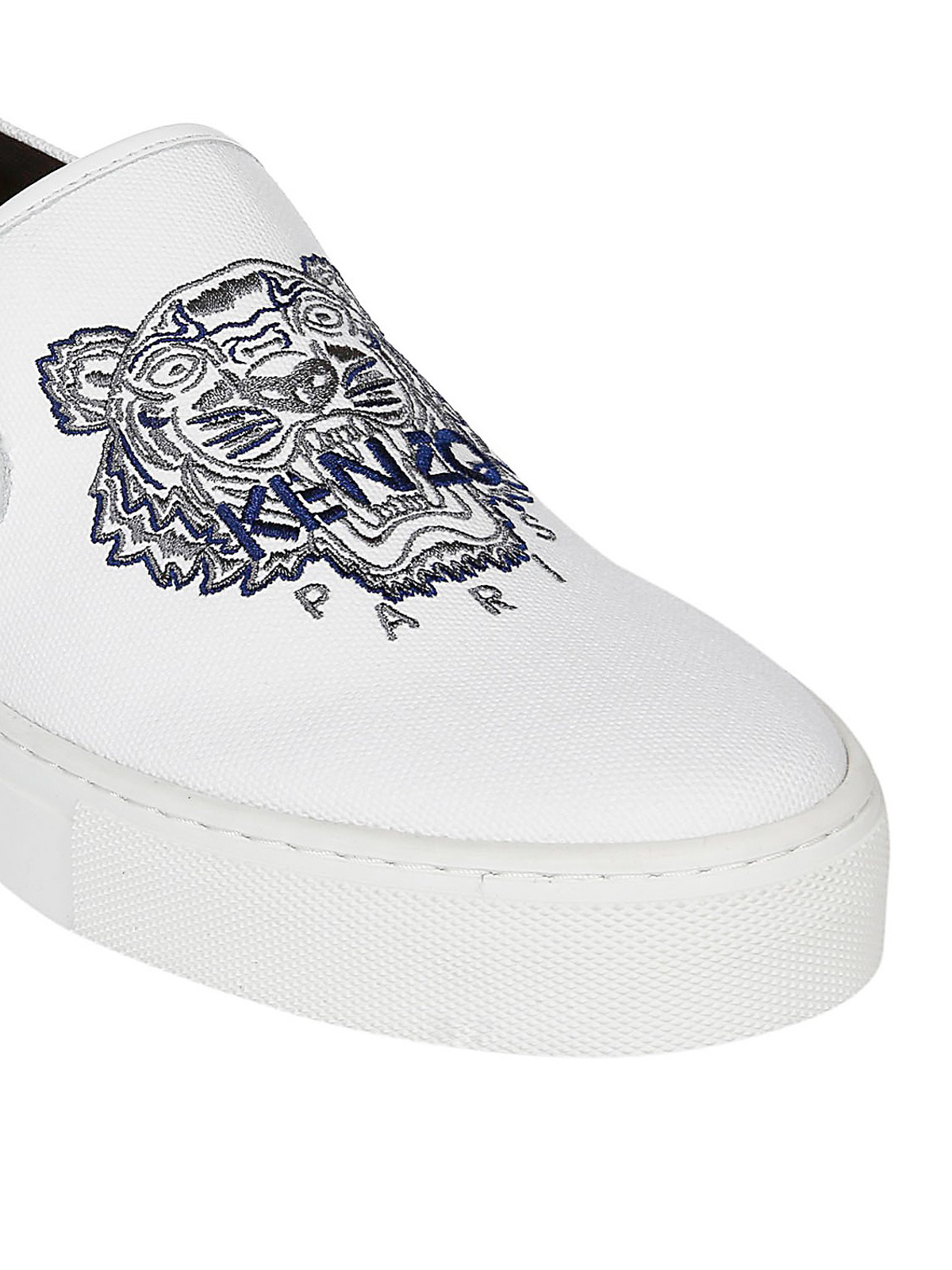 K-Skate Tiger canvas slip on sneakers