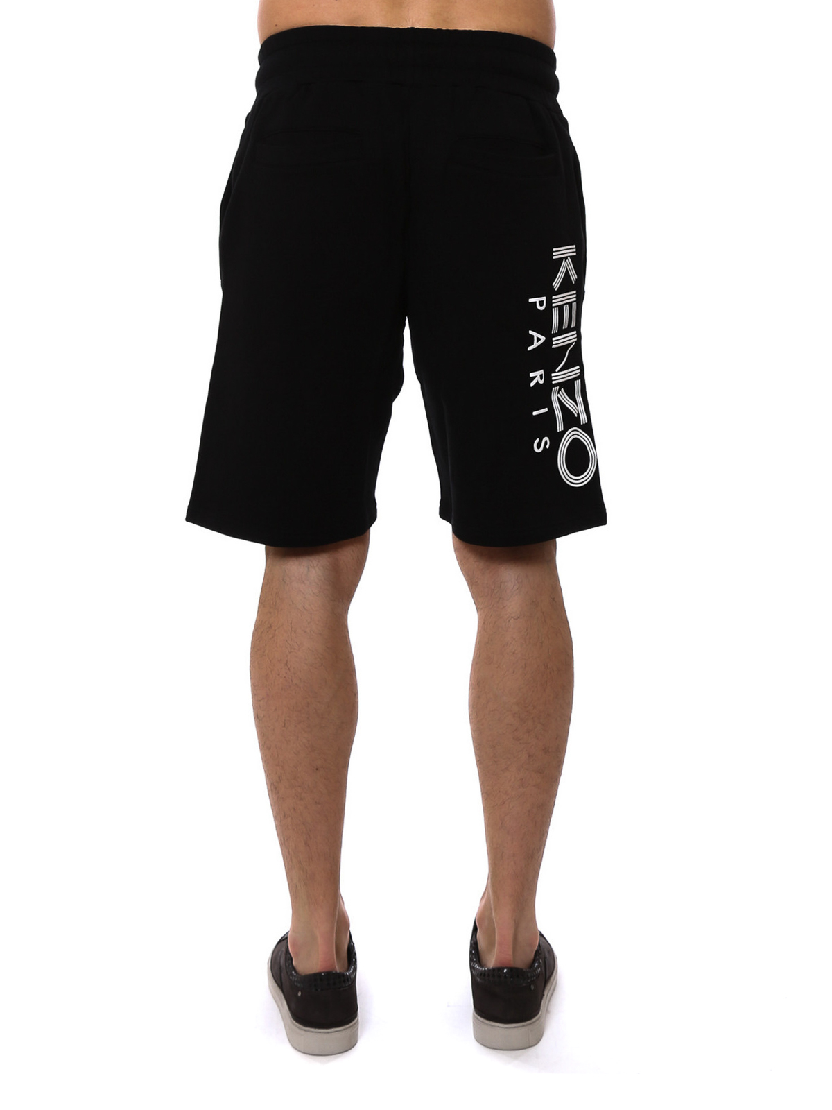 e965f4d8 iKRIX KENZO: Trousers Shorts - Rubberised logo print fleece shorts