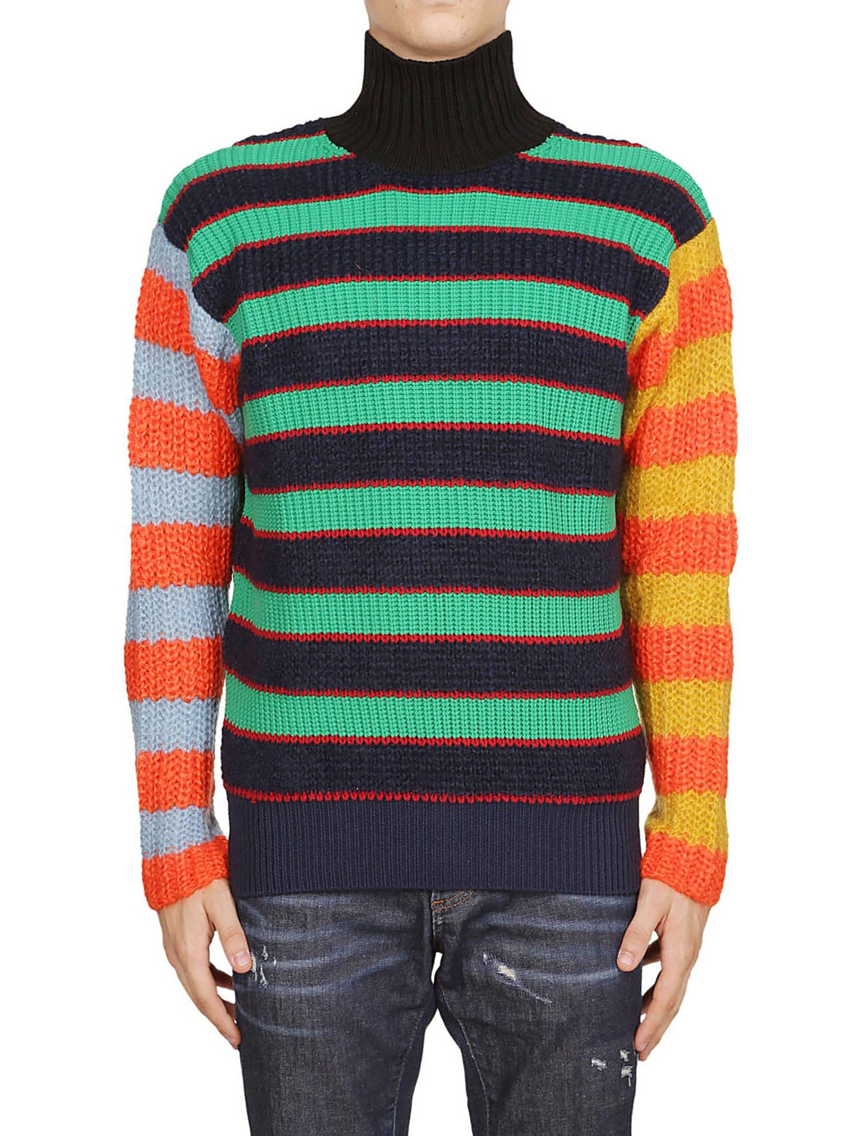pull col roulé kenzo homme