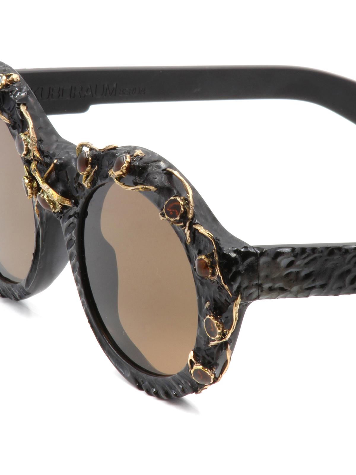 24a9205d65d Kuboraum - Mask A2 embellished sunglasses - sunglasses - A2BMSF