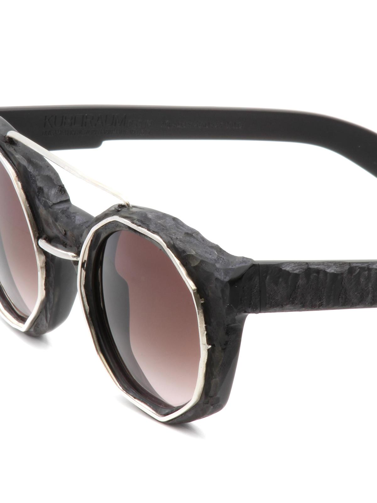 aec0ef642da Kuboraum - Mask U6 matte acetate sunglasses - sunglasses - U6BMLU