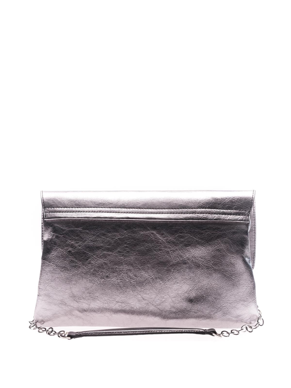 L'autre Chose Iride laminated leather bag E1flXGlzm
