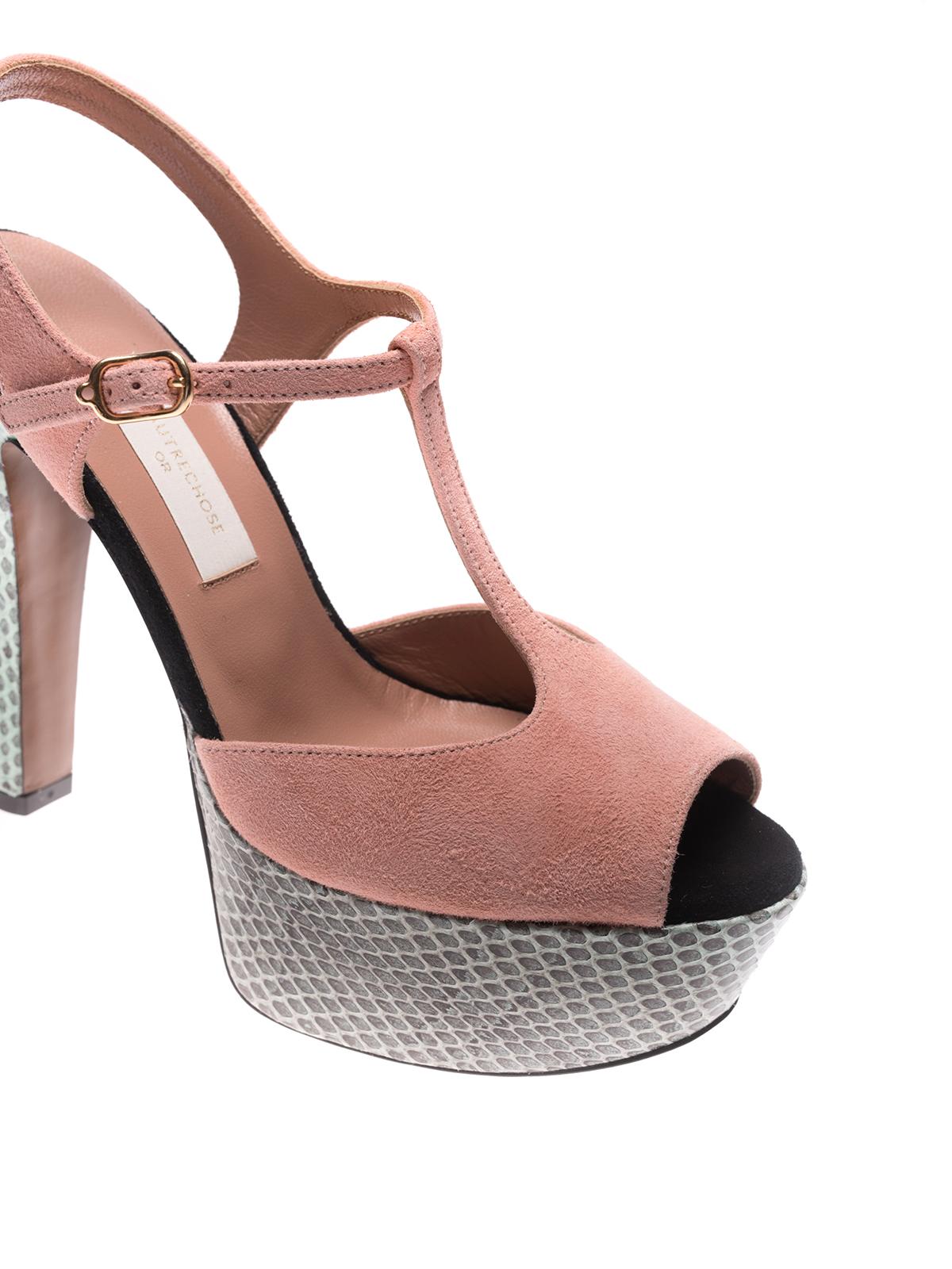 L'Autre Chose closed toe sandals outlet visa payment Ec12AM2