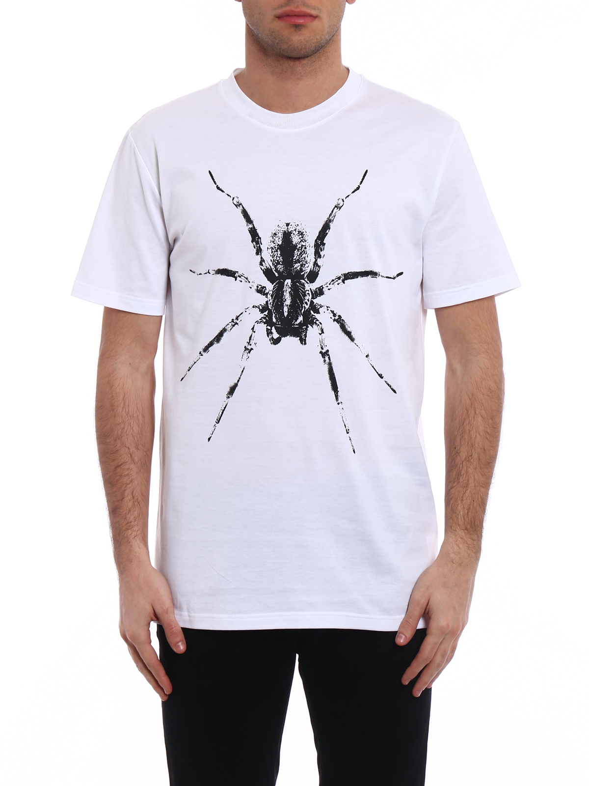 All Size spider print T-shirt - White Lanvin Comfortable Online Recommend Sale Online NaqdPH