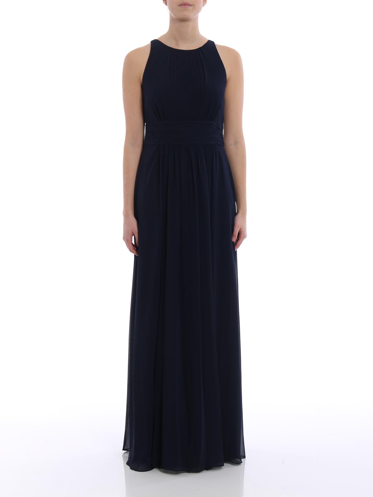 Ikrix Lauren Ralph Evening Dresses Niketta Georgette Long Gown