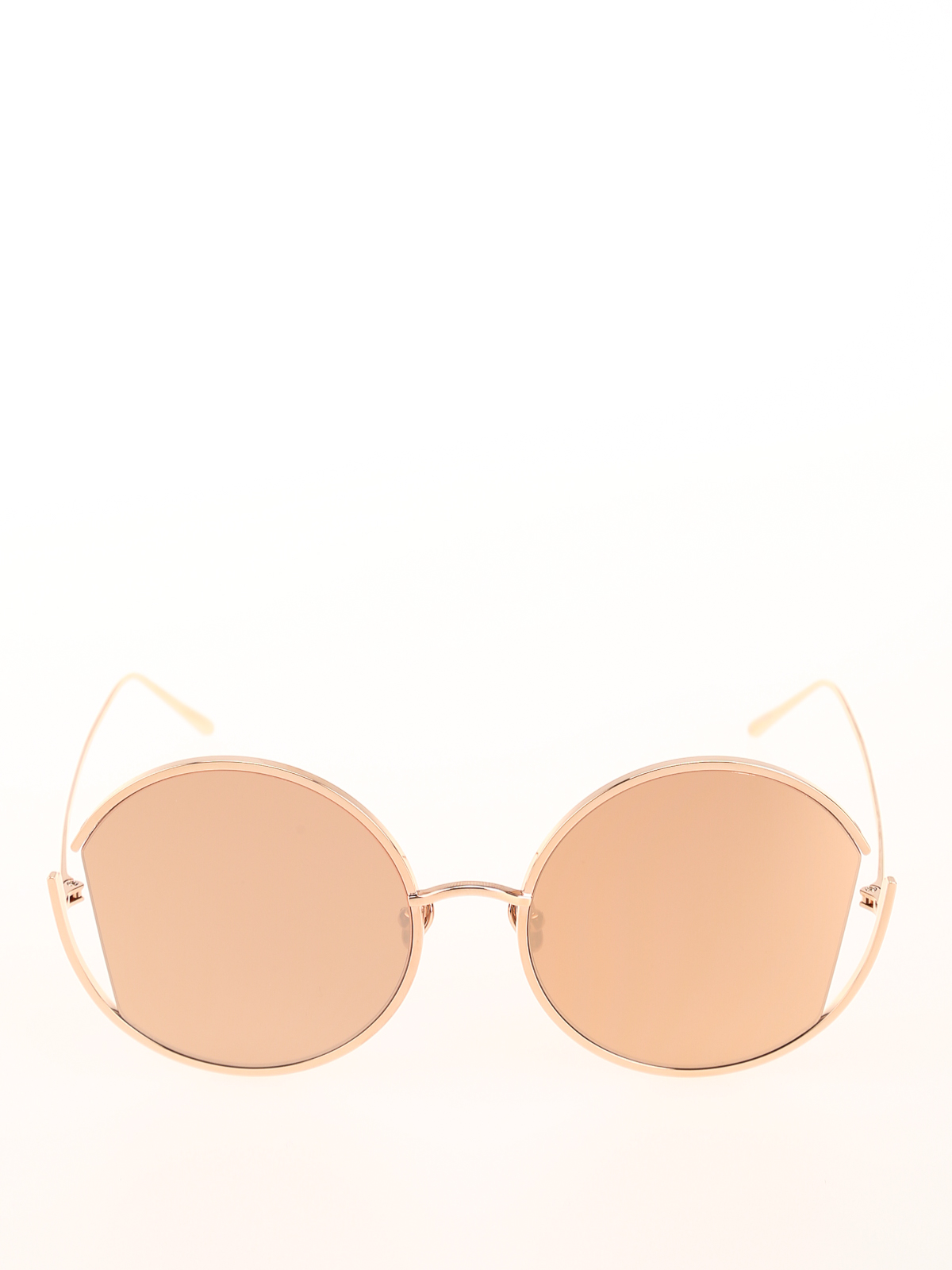 699666582baf iKRIX LINDA FARROW  sunglasses - Quarry rose gold-plated titanium sunglasses