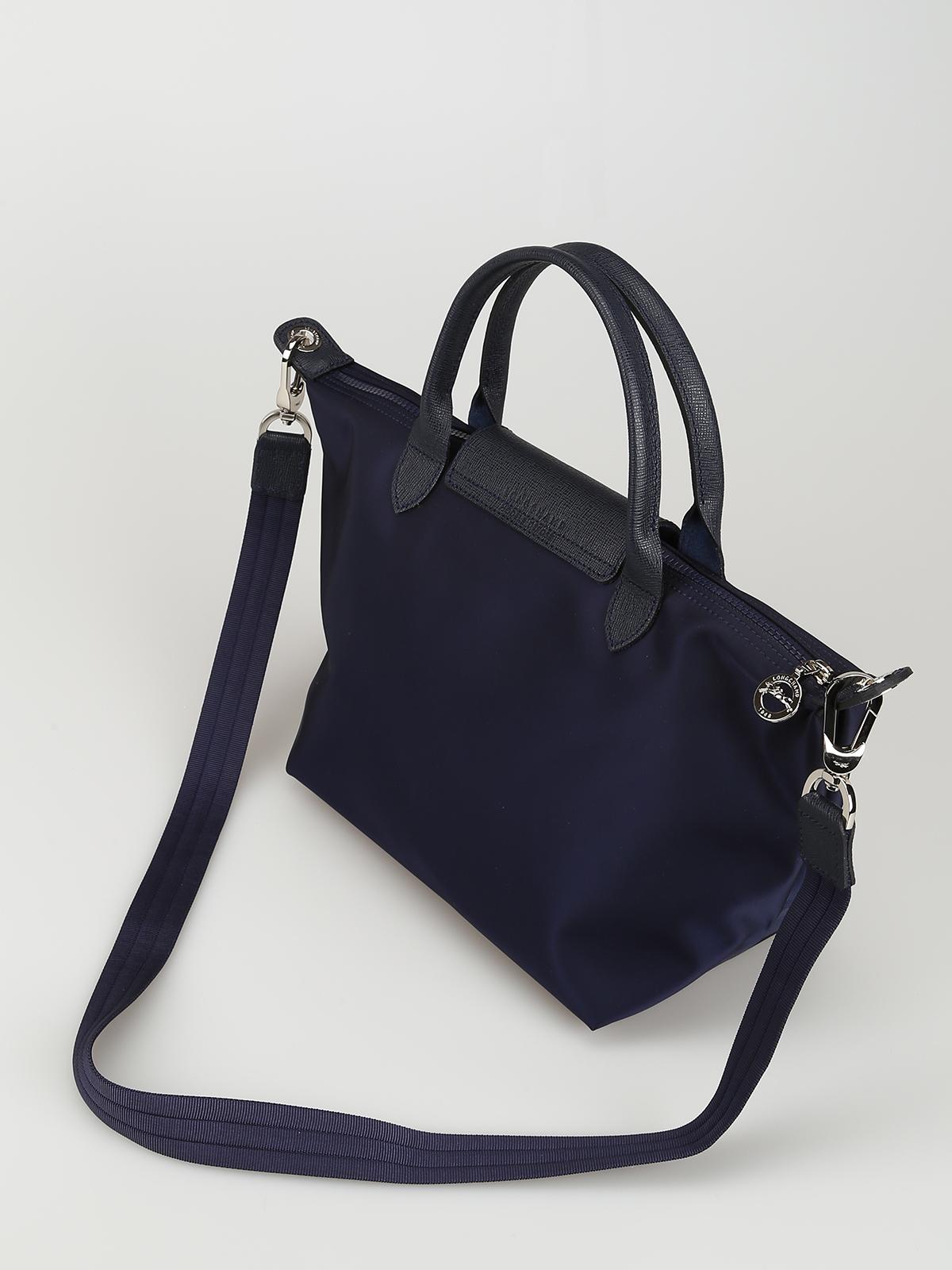 2787026239 Longchamp - Le Pliage Neo blue nylon handbag - totes bags - 1512578006