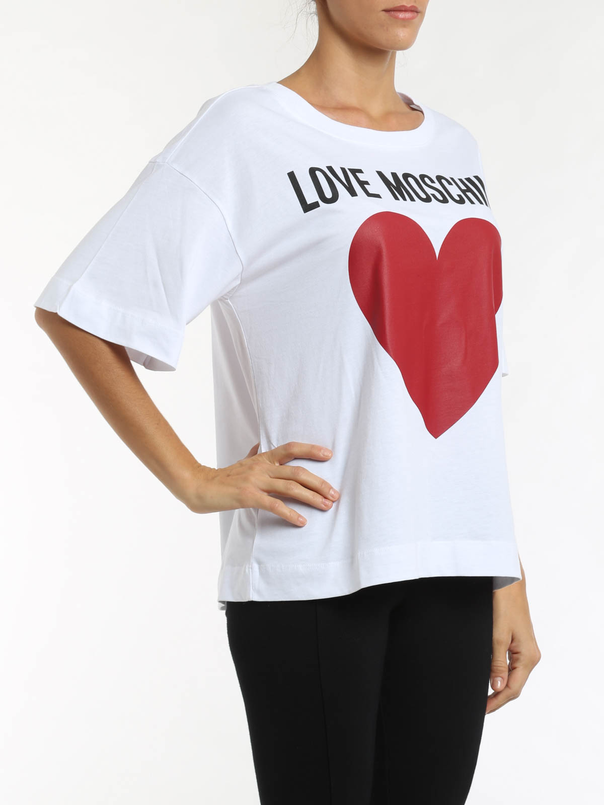 the trueself love moschino t shirts. Black Bedroom Furniture Sets. Home Design Ideas