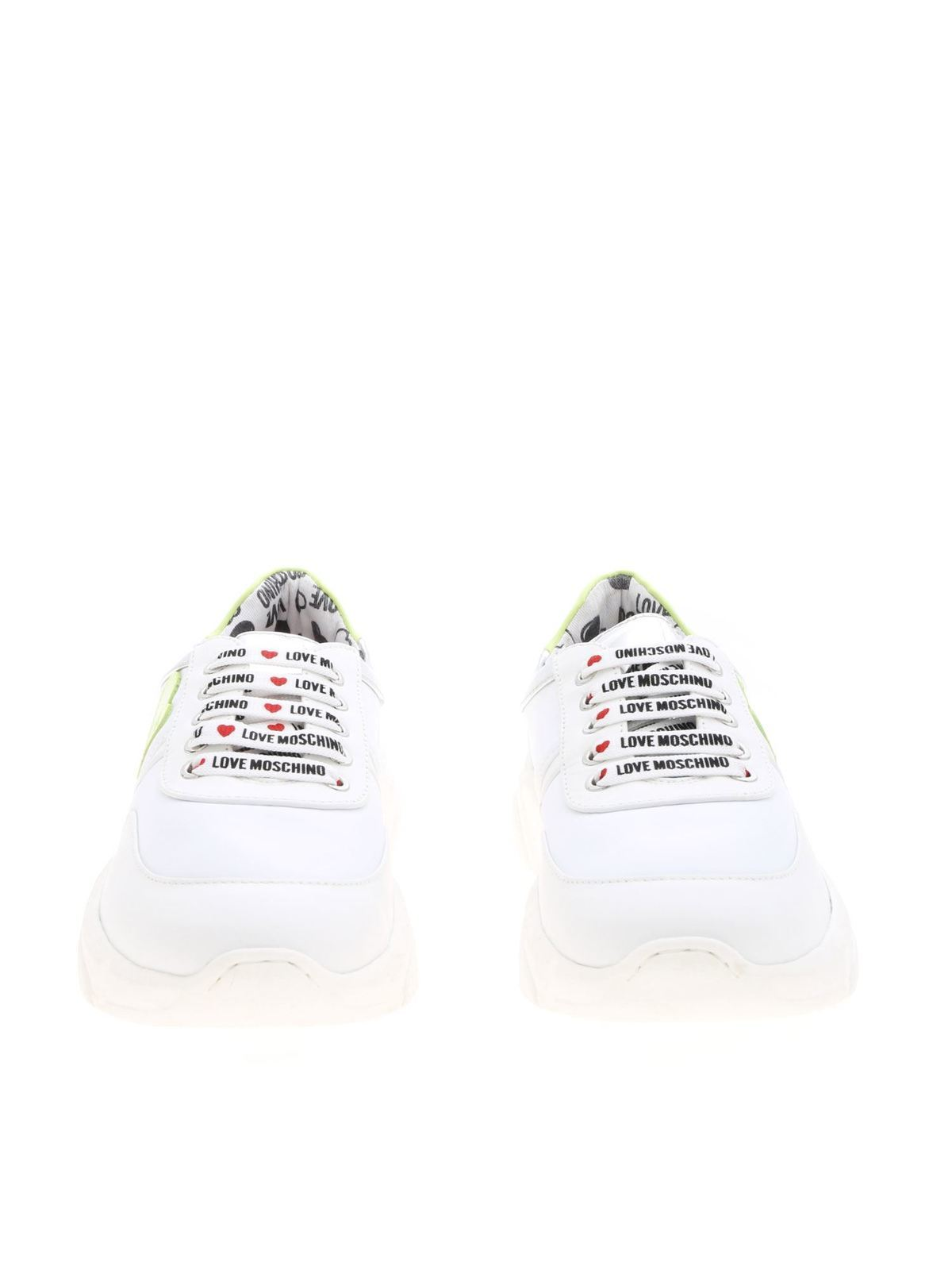 Love Moschino - Sneakers in white with