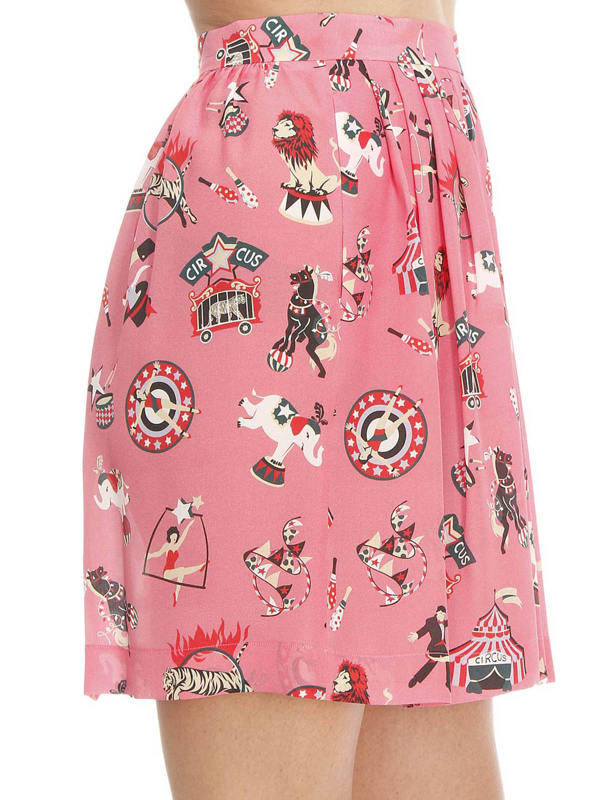 Printed Skirts Long skirts with exquiste patterns printed on a cotton/rayon fabric. These skirts are aggressively priced and are great for day wear or casual wear for Spring and Summer.