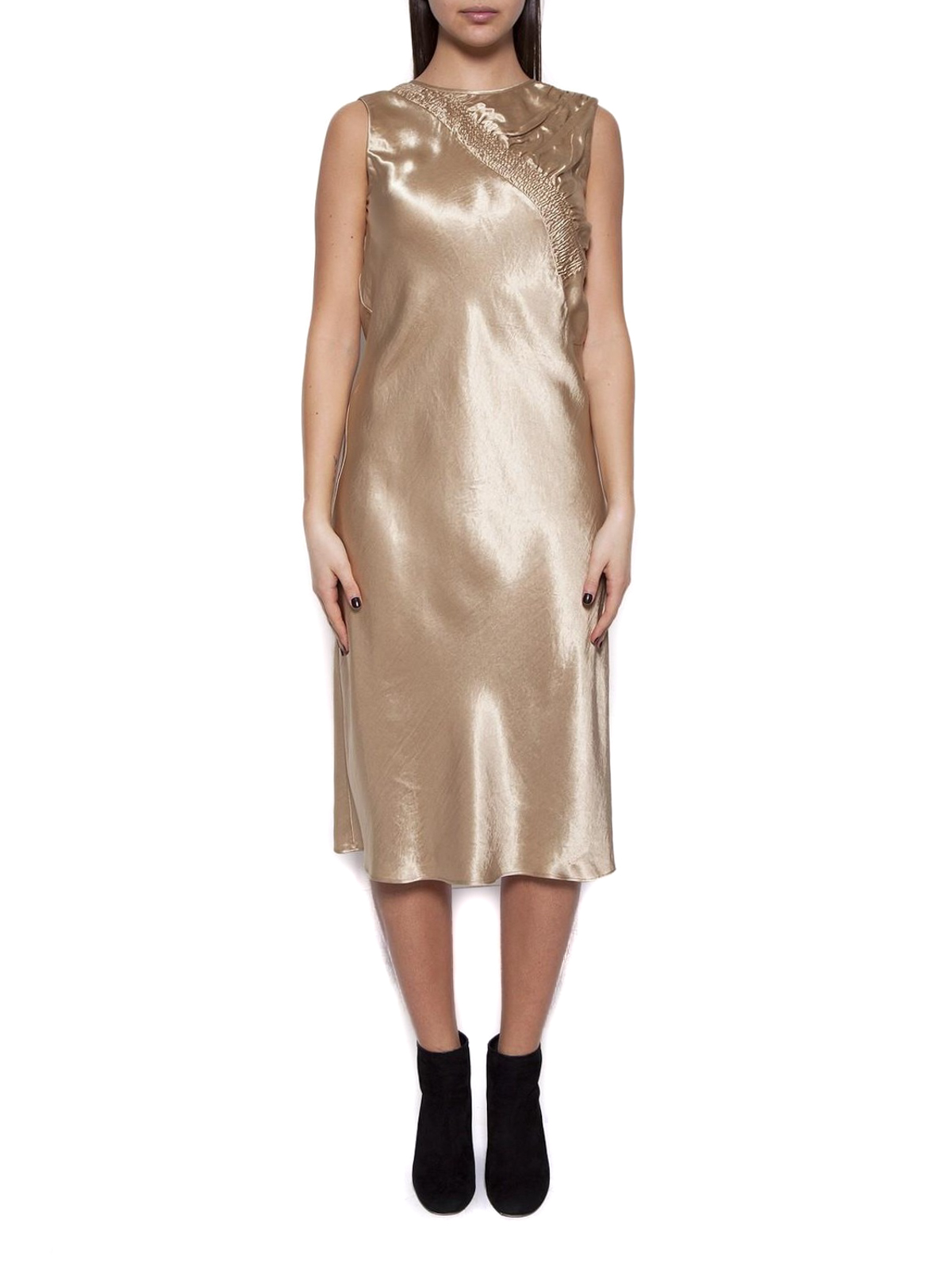 2019 year look- Shift Gold dress pictures