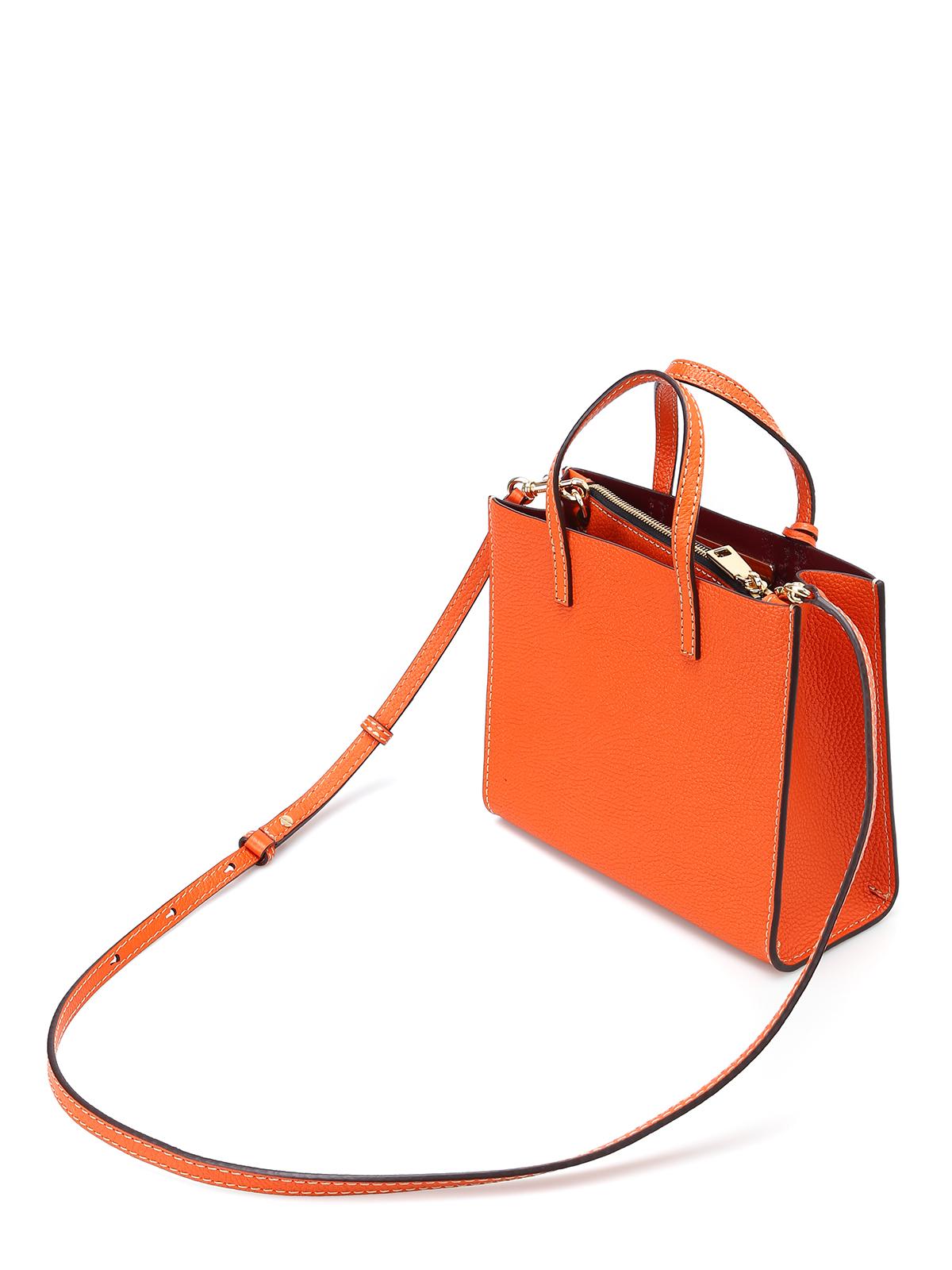Marc Jacobs - Mini Grind mandarin leather bag - cross body bags ...