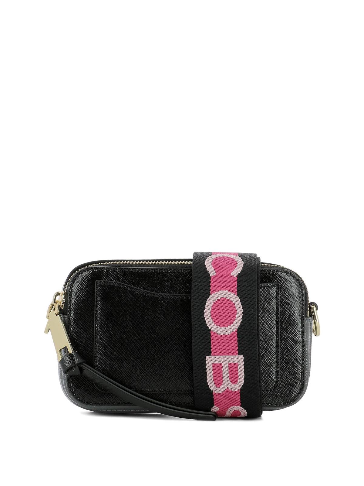 8b2fe2c52d iKRIX MARC JACOBS: cross body bags - Snapshot small black leather bag