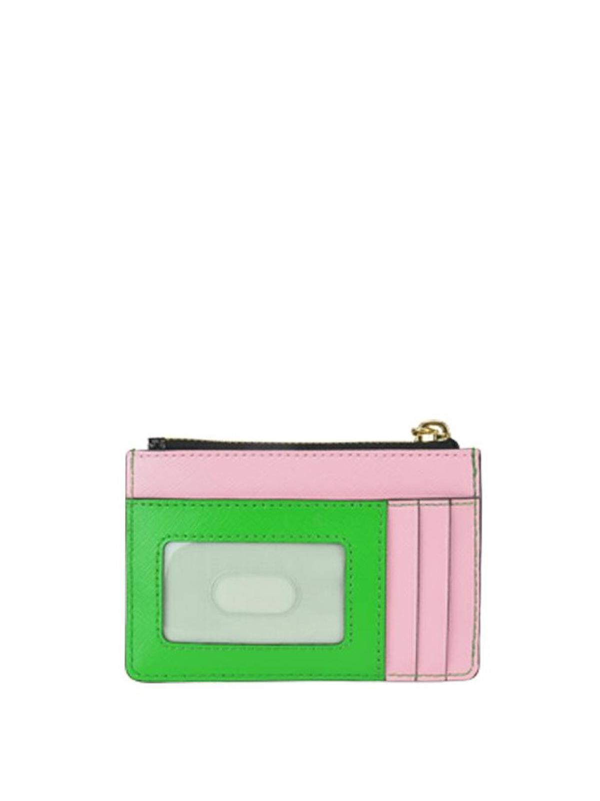 eec2cf597a iKRIX MARC JACOBS: wallets & purses - Multicolour Snapshot zipped wallet