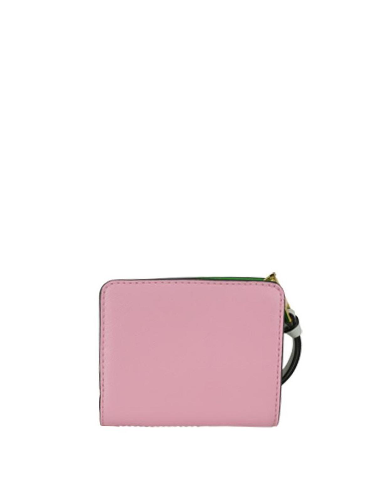 40455d1a54 iKRIX MARC JACOBS: wallets & purses - Snapshot Mini compact zipped wallet