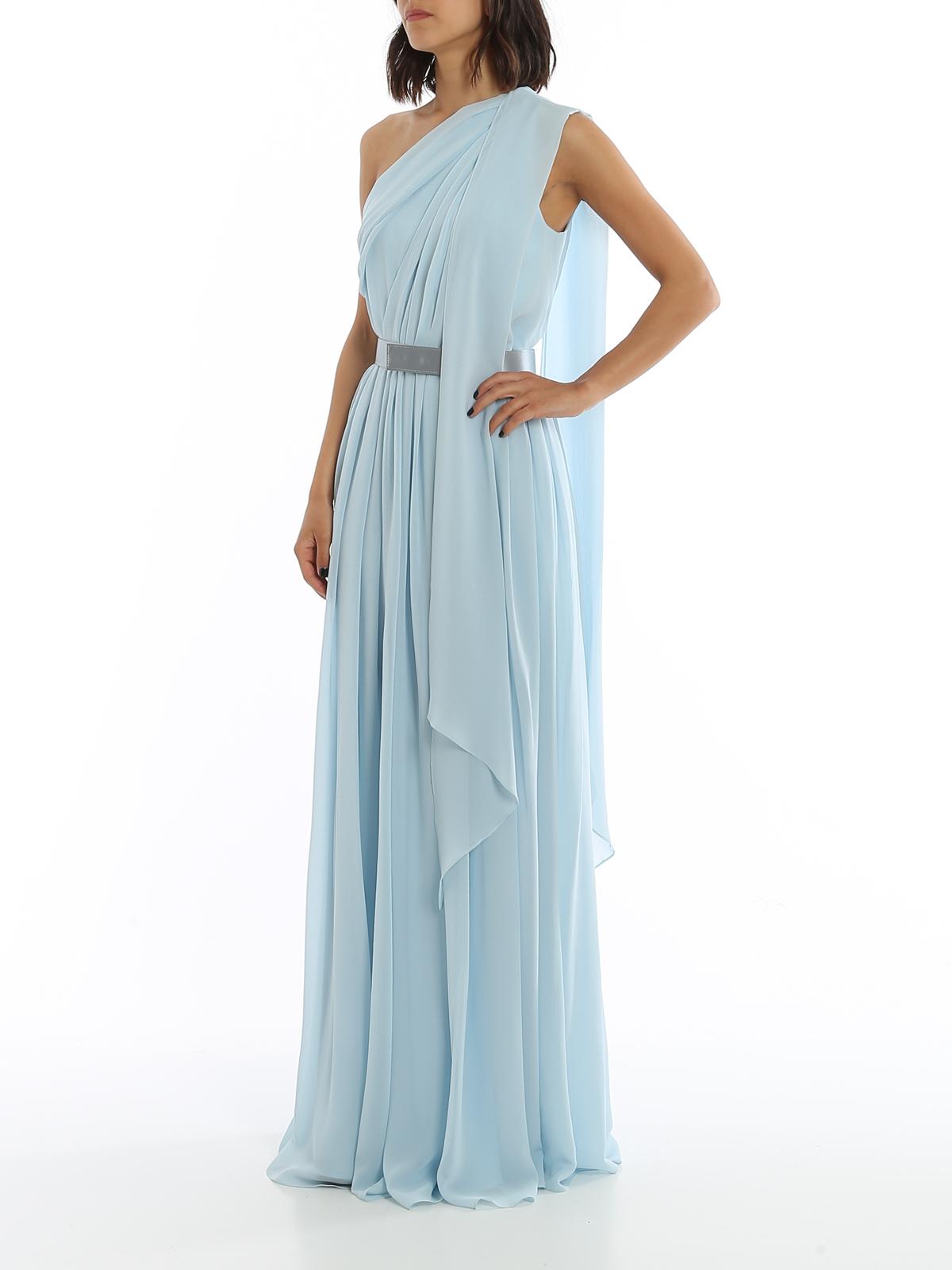 Max Mara - Abendkleid - Hellblau - Abendkleider - 9