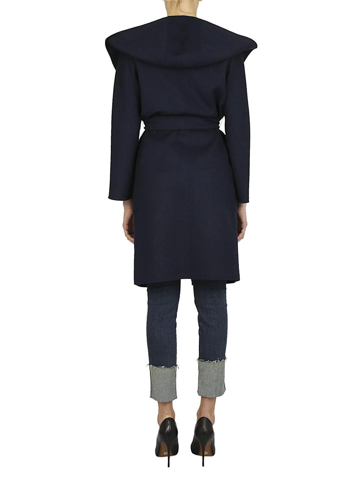 iKRIX Max Mara  cappotti al ginocchio - Cappotto Mozart lana e cashmere blu bf79f2a4412