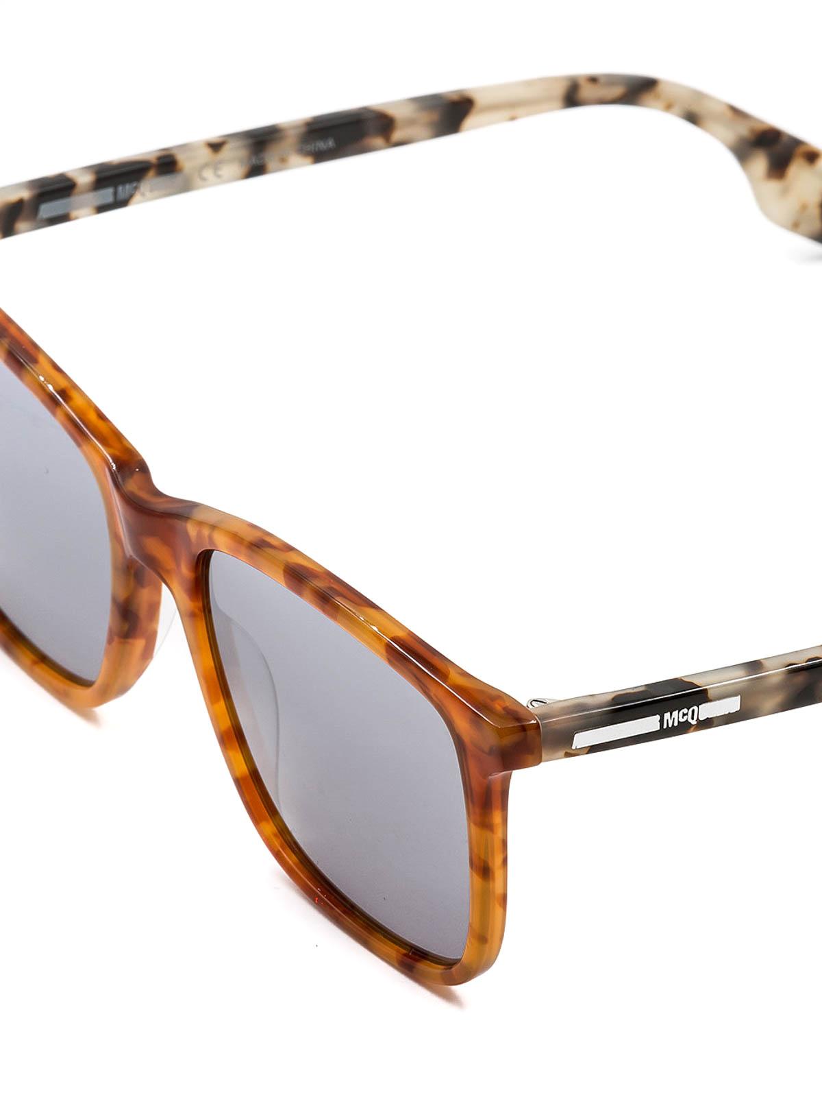 0dc6346b81 Mcq - Two-tone tortoiseshell sunglasses - sunglasses - MQ0080S4