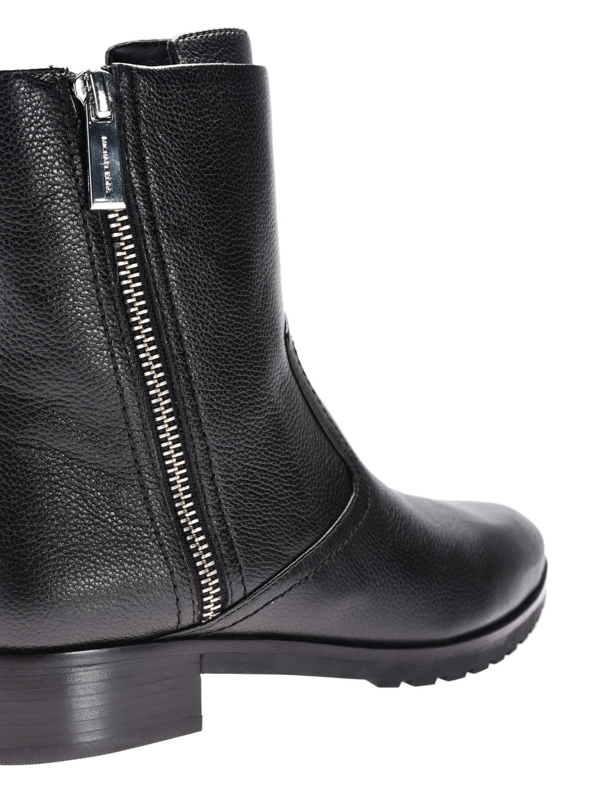 Michael Kors - Andi Flat black leather