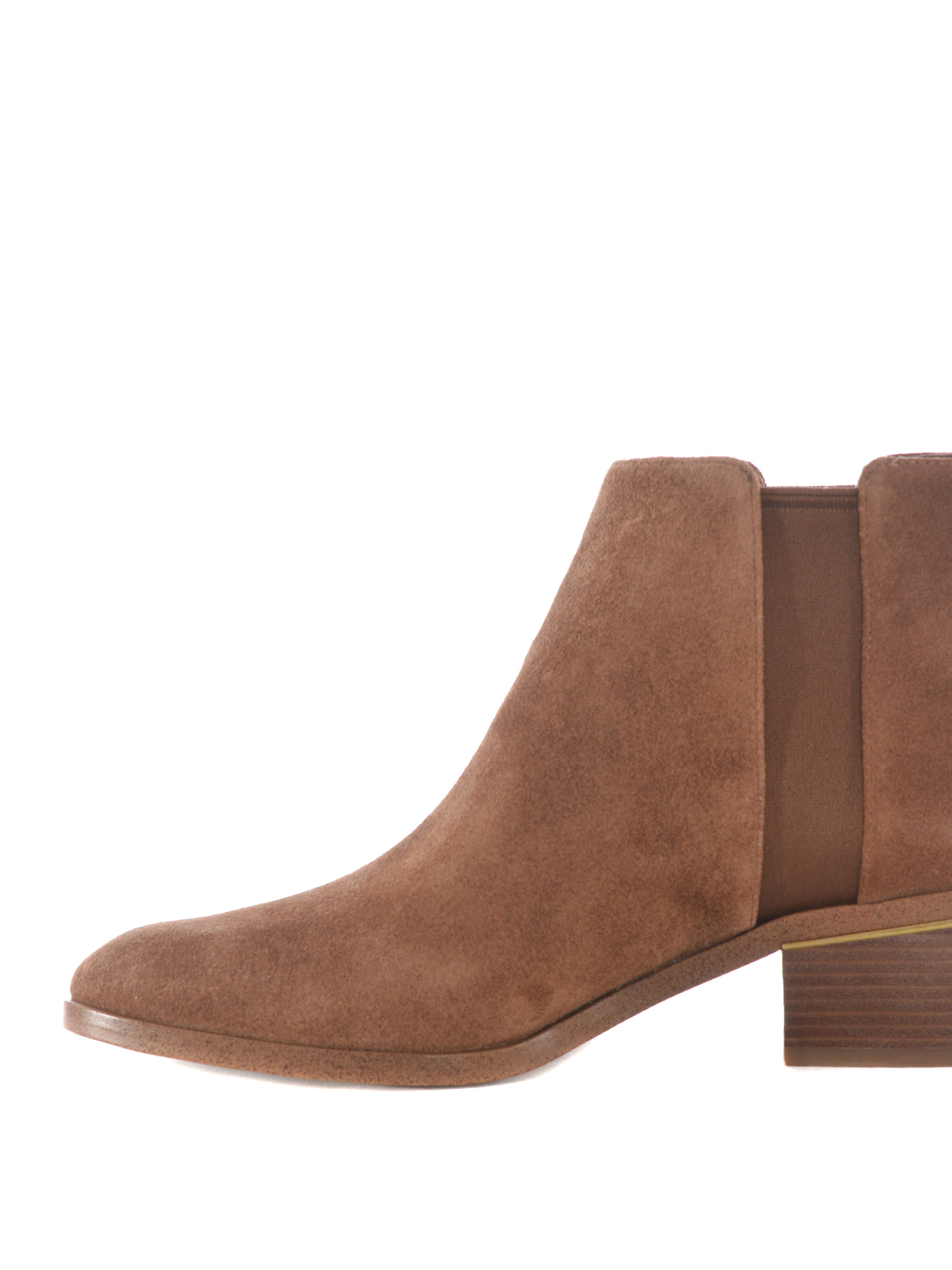 Crosby brushed suede Chelsea boots