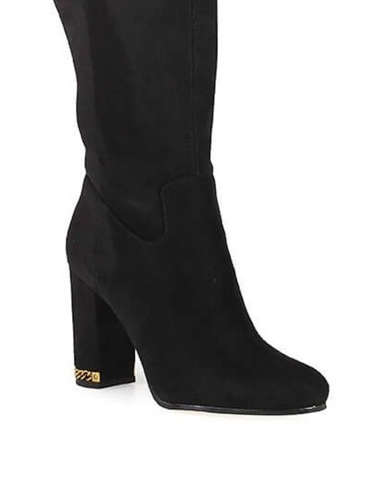 22be461f00e iKRIX MICHAEL KORS  boots - Jamie Stretch suede-like block heel boots