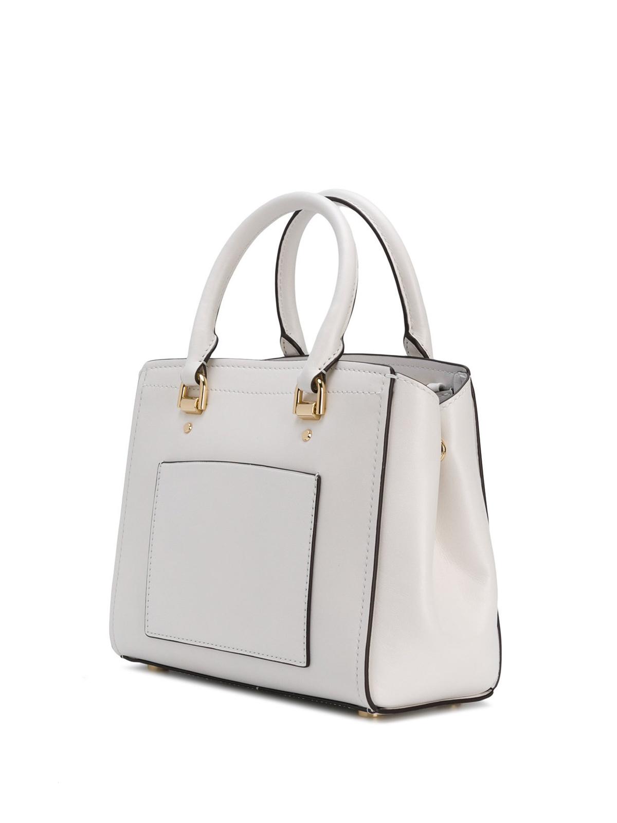 low price michael kors grey bowling bag 0e554 25aa9