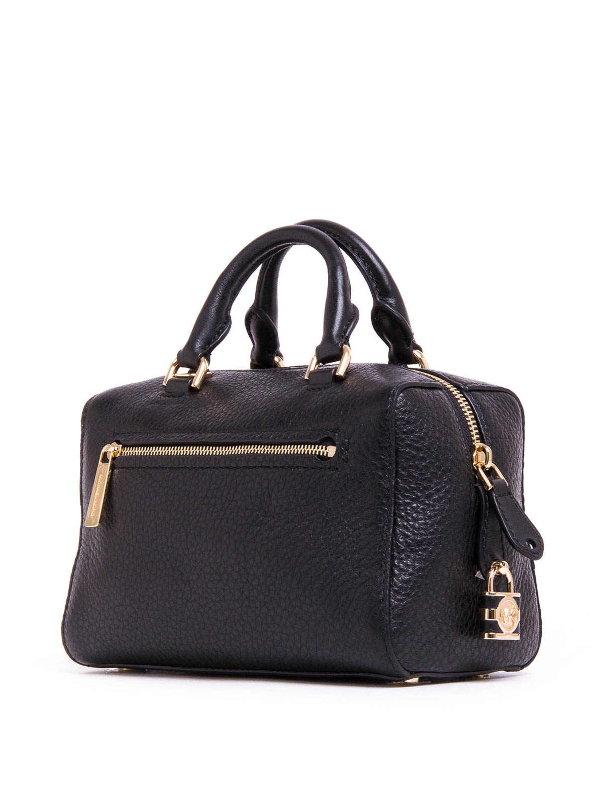 Ikrix Michael Kors Bowling Bags Grainy Leather Kirby Bag