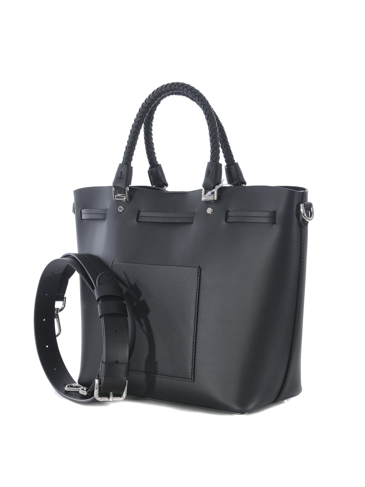 7350c3d69f7bda iKRIX MICHAEL KORS: Bucket bags - Blakely M black leather bucket bag
