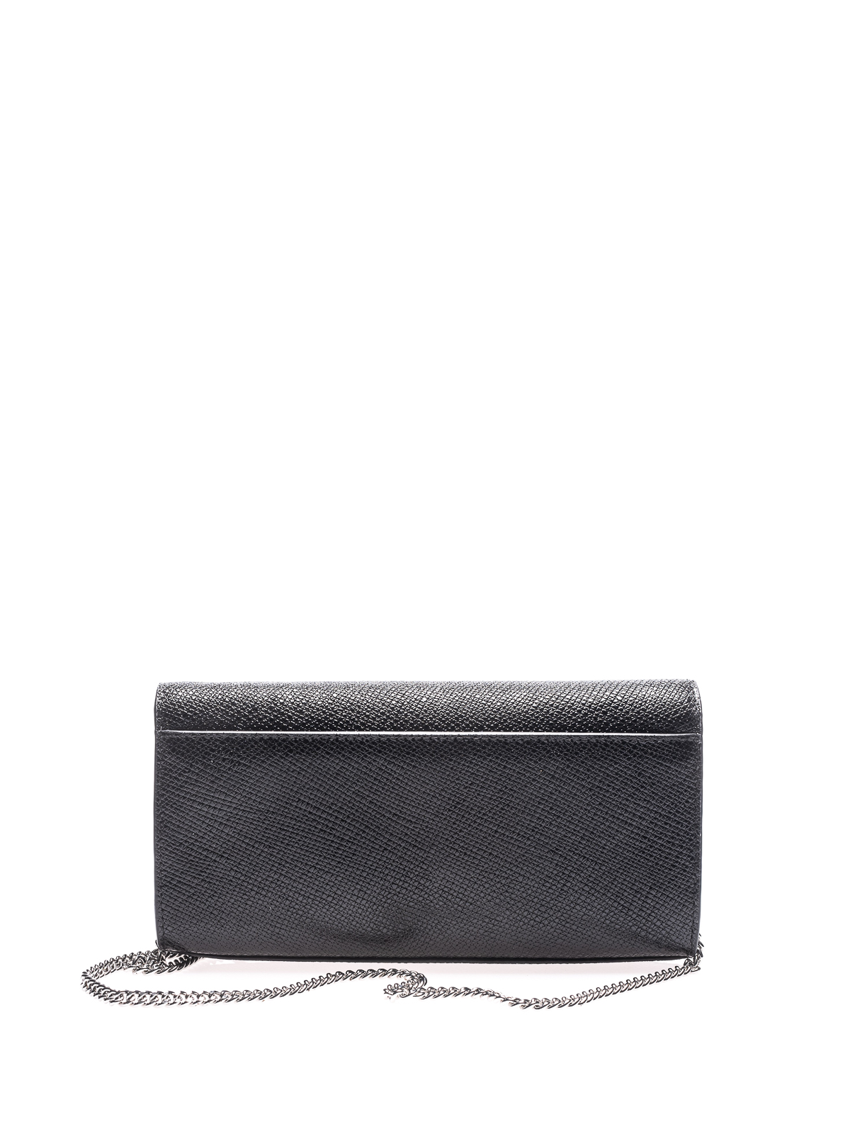 Michael Kors Mott grainy leather envelope clutch