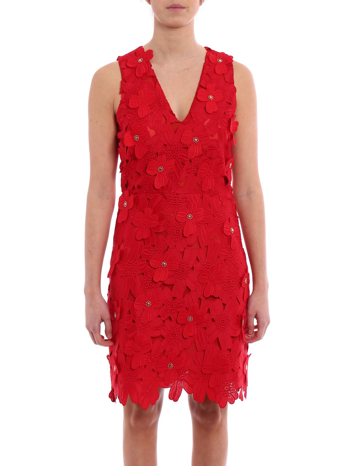 iKRIX MICHAEL KORS  cocktail dresses - Floral applique lace dress 2eac94b8d0