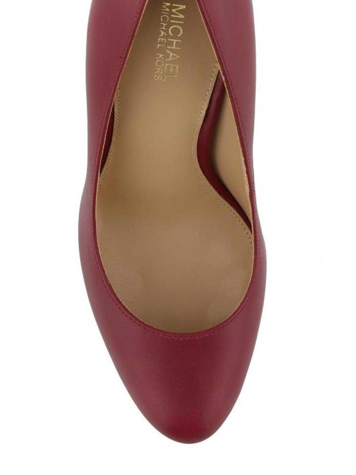 12f79a0a7f5d iKRIX MICHAEL KORS  court shoes - Antoinette rear detail leather pumps