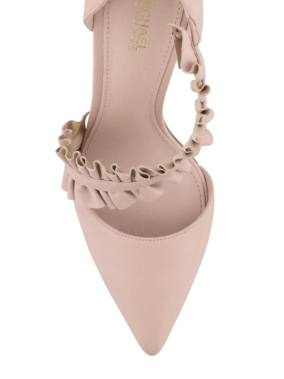 Michael Kors - Bella pink pointy pumps