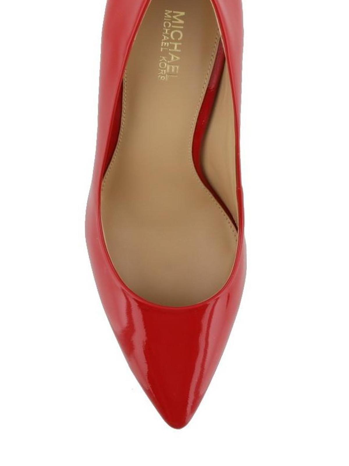 Michael Kors - Flex Mid-heel red patent