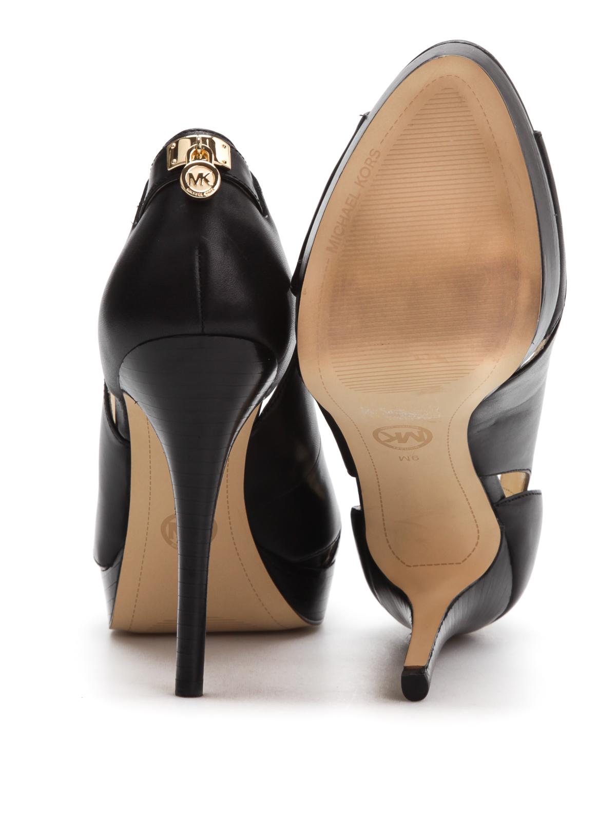 76d7486bd2c9 Michael Kors - Hamilton open toe - court shoes - 40T5HAHP2L