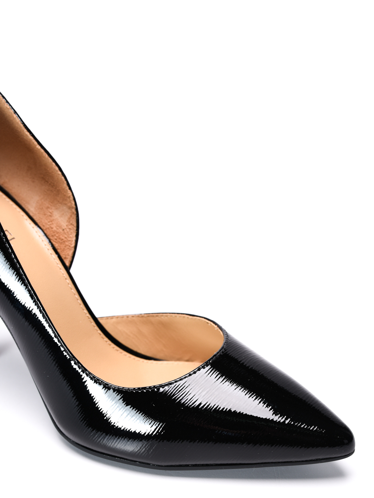 Michael Kors Nathalie Flex patent leather pumps court