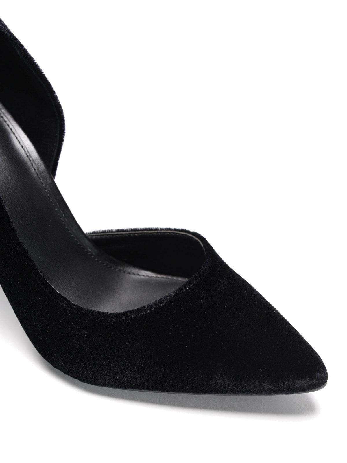 64ceccc0f44 Michael Kors - Nathalie Flex velvet high pump - court shoes - 40F6NAHP3D