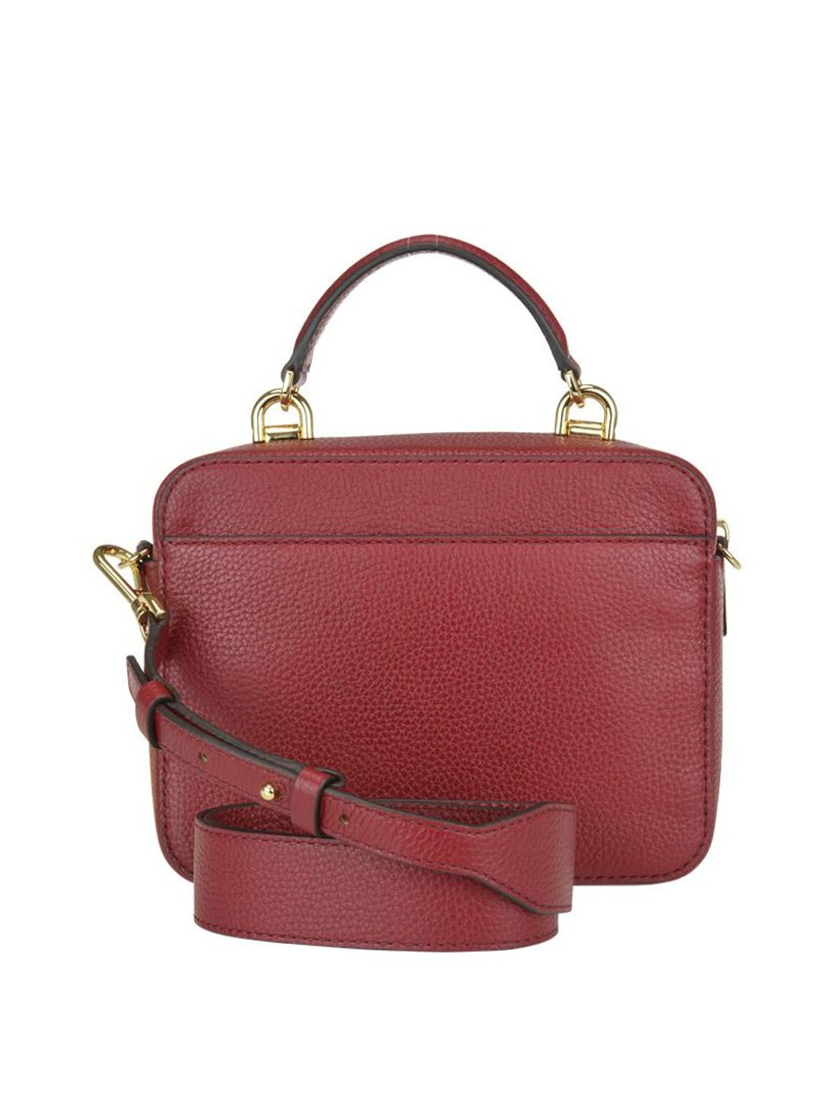 736a5e63c865 iKRIX MICHAEL KORS  cross body bags - Grained leather briefcase style bag
