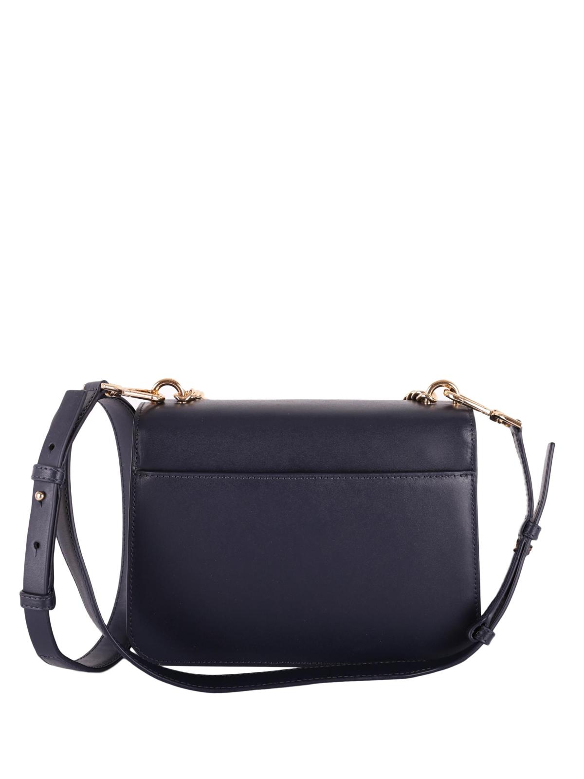 d8196a153ae8 iKRIX MICHAEL KORS: cross body bags - Mott blue leather cross body bag