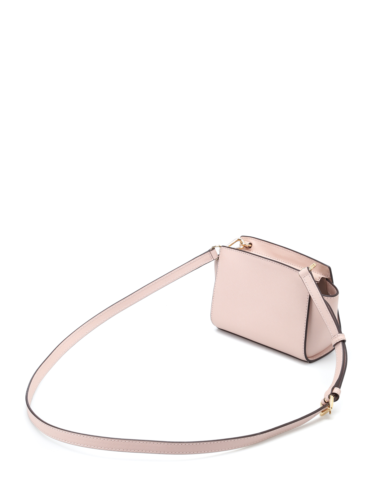 dd967d709e0d8e ... get ikrix michael kors cross body bags selma mini soft pink messenger  bag 0fc7e dda16