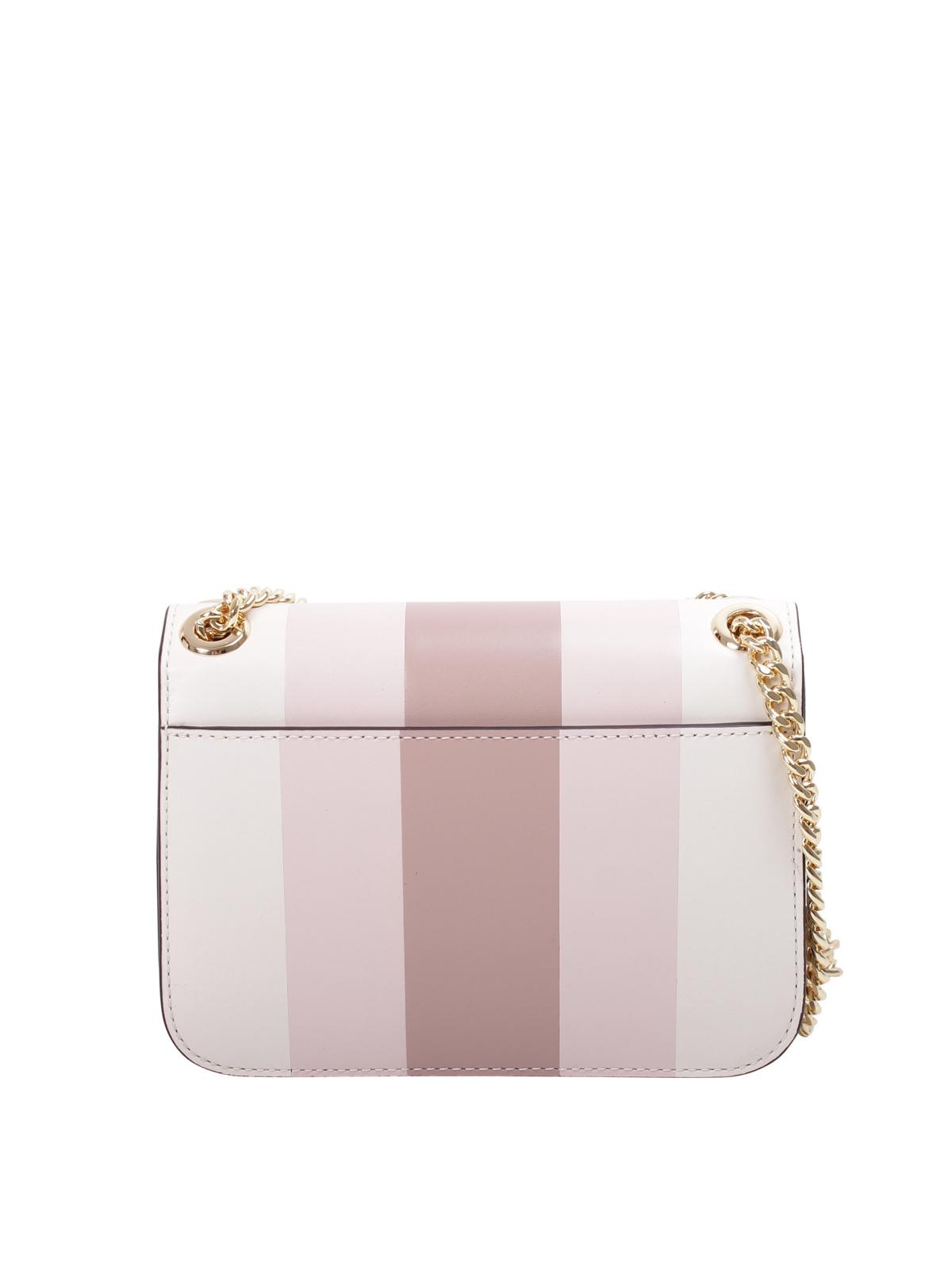 best website 86bf3 eed4b Michael Kors - Sloan striped leather small bag - cross body ...
