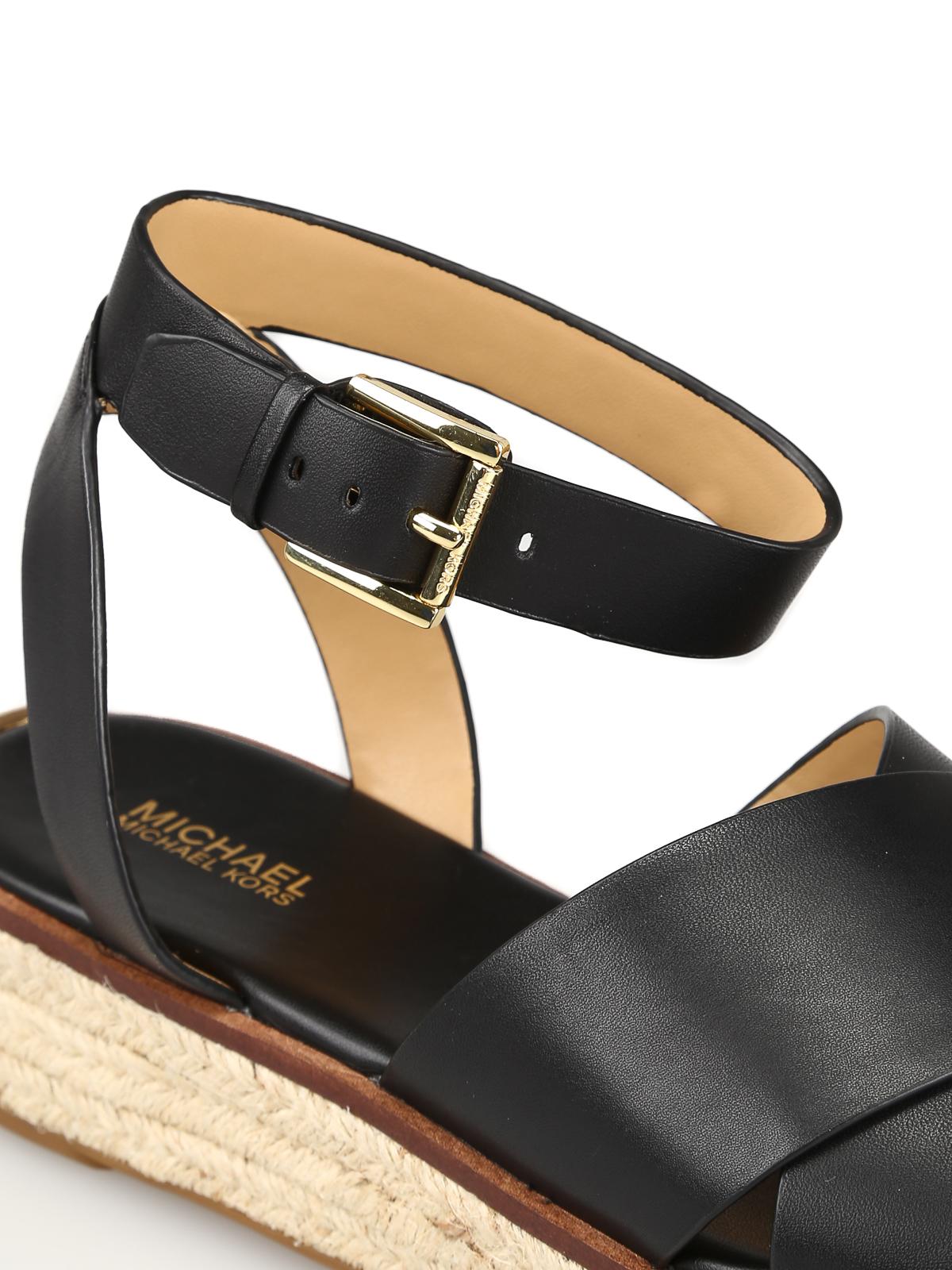 Michael Kors - Abbott black leather
