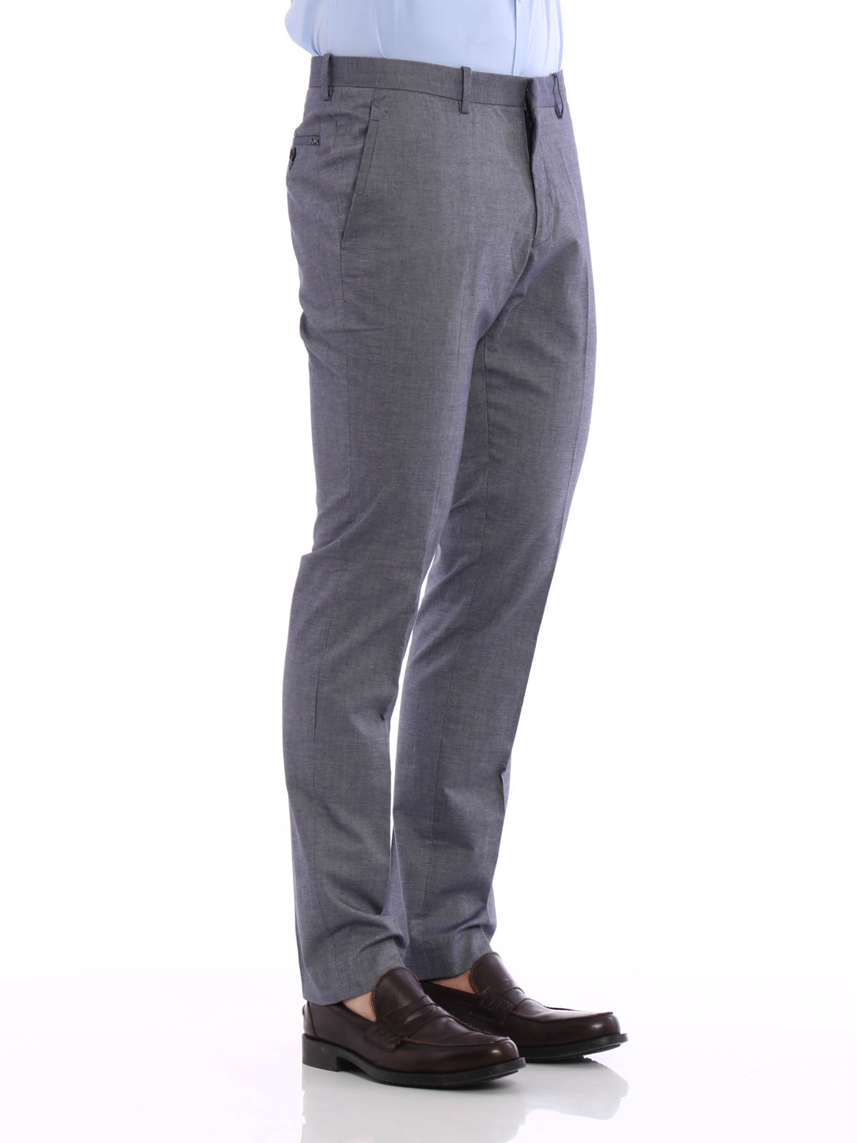 Tailored cotton trousers by Michael Kors