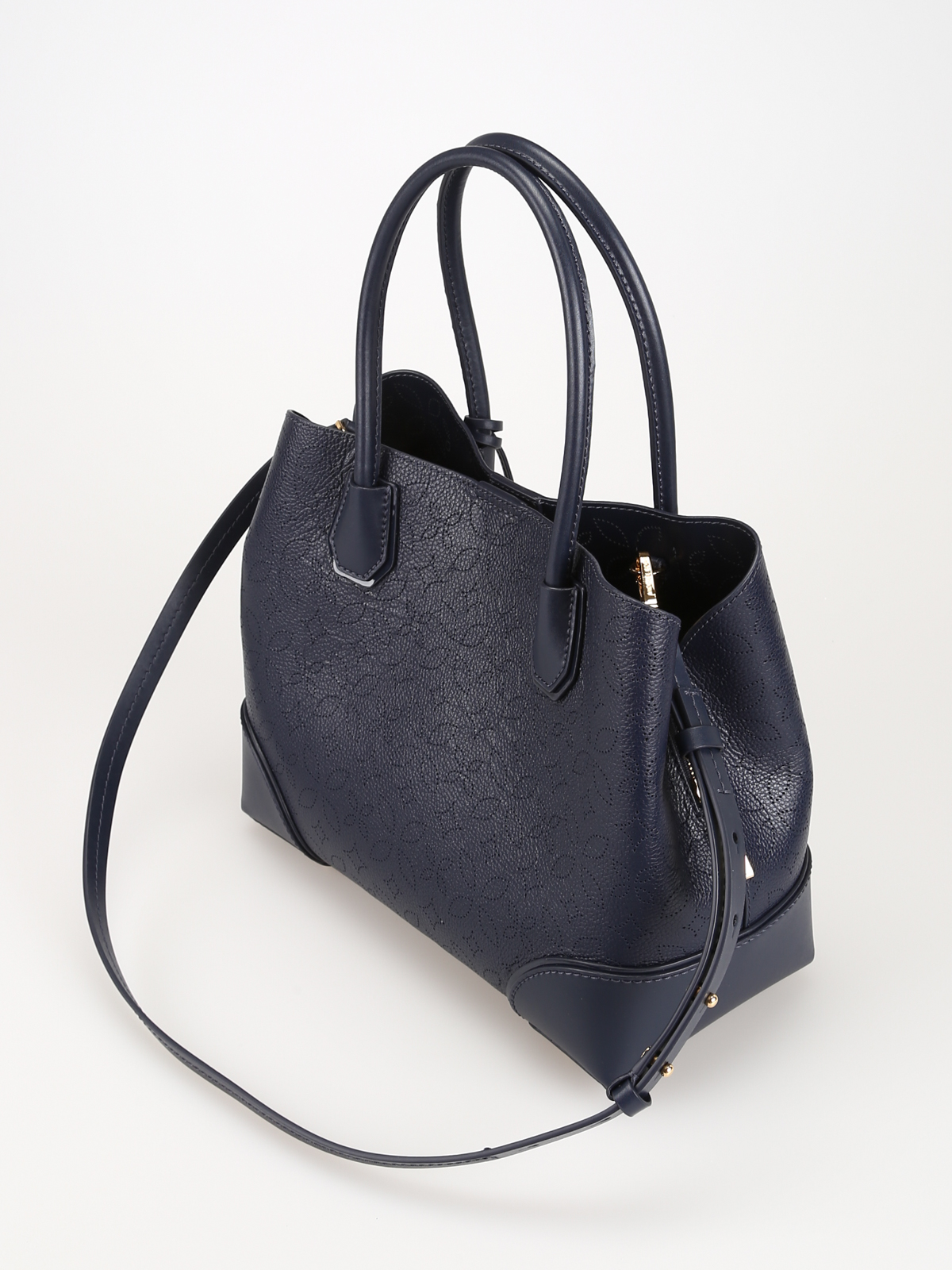 12f652e18c52 iKRIX MICHAEL KORS: totes bags - Admiral blue Mercer Gallery medium bag