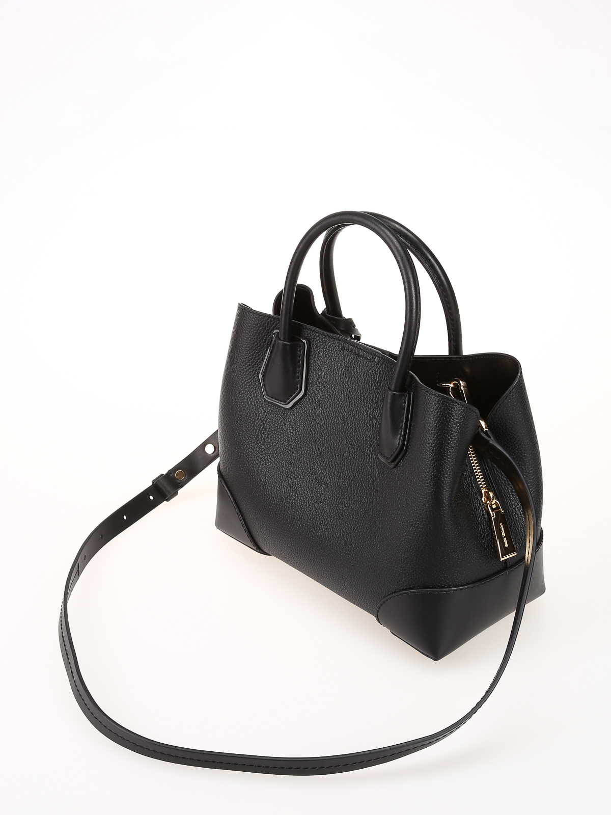 michael kors mercer gallery black small tote totes bags 30h7gz5t1t001. Black Bedroom Furniture Sets. Home Design Ideas